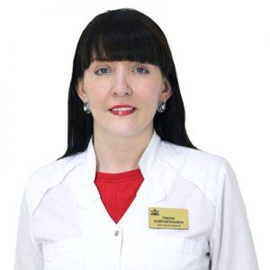 Тяжова Юлия Евгеньевна